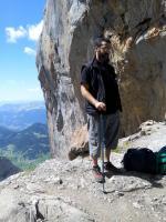 La force et la vie de la montagne