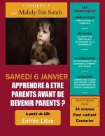 Conférence à Saint Denis le 6 janvier sur les droits des enfants